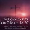XT3 Lent 2015